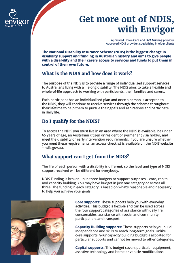 Get more out of NDIS